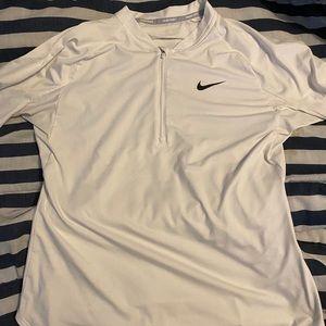 Nike long sleeves half zip